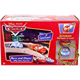 Cars Race And Chase: Willys Butte Set ~ Mattel