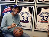 Autographed Kareem Abdul-jabbar Wilson Composite Leather Basketball Laker Photograph & What Color Is My World?: The Lost History of African-American Inventors Book