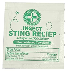 Sting Relief Prep Pads by Guardian