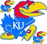 Trademarx RL KAN Kansas Jayhawks Licensed Wall Decal