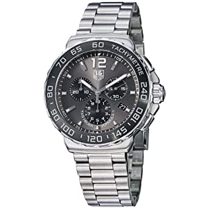 TAG Heuer Men's CAU1115.BA0858 Formula 1 Grey Dial Stainless Steel Watch