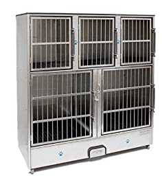 Groomer\'s Best 5-Unit Cage Bank