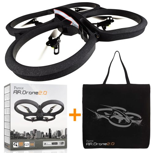 AR.Drone 2.0 【数量限定キャンペーン:オフィシャルキャリーバッグ付】