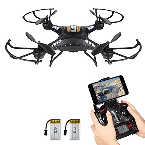 Drone with HD Camera, Potensic F183WH Altitude Hold 4CH Six-Axis RC