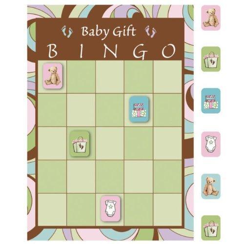 Creative Converting Mens Parenthood Bingo Game Black Medium - 1