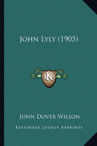 John Lyly (1905)