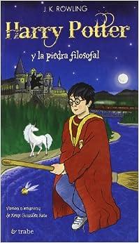 Harry potter y la piedra filosofal(asturiano): Amazon.es