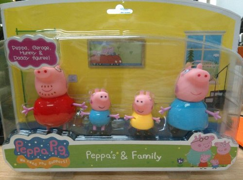 Fisher-Price Peppa And Family Children, Kids, Game front-919983