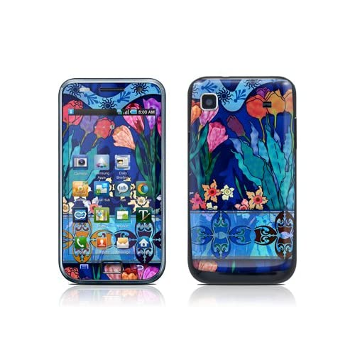 Silk Flowers Design Protective Skin Decal Sticker for Samsung Galaxy S i9000 Cell Phone