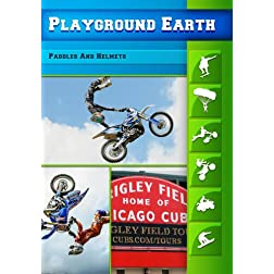 Playground Earth Paddles And Helmets