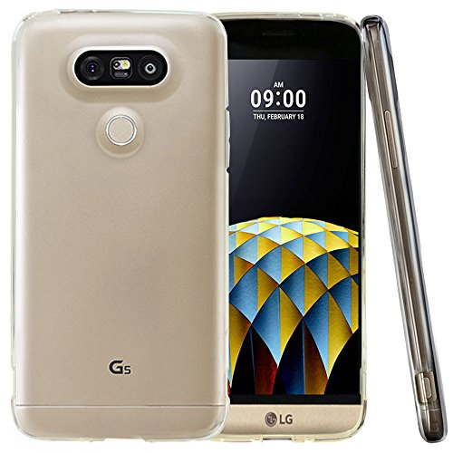 LG G5 Case, REDShield® [Clear] Slim & Flexible Anti-shock Crystal Silicone Protective TPU Gel Skin Case Cover