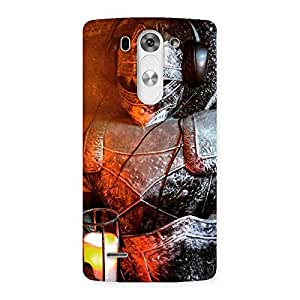 Cute Warrior Knight Print Back Case Cover for LG G3 Mini