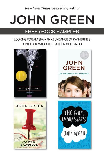 We don't often recommend these samplers, but we'd love you to discover this author, if you haven't already…. The John Green eSampler
