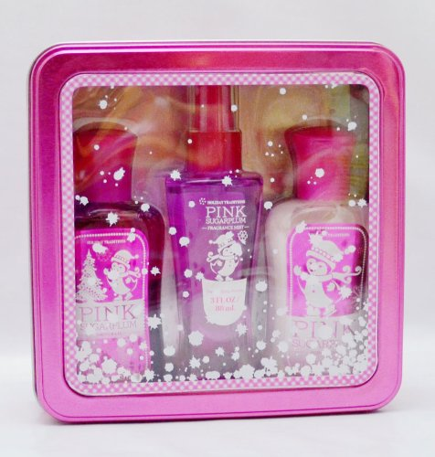 Bath and Body Works Pink Sugarplum 3 oz Gift