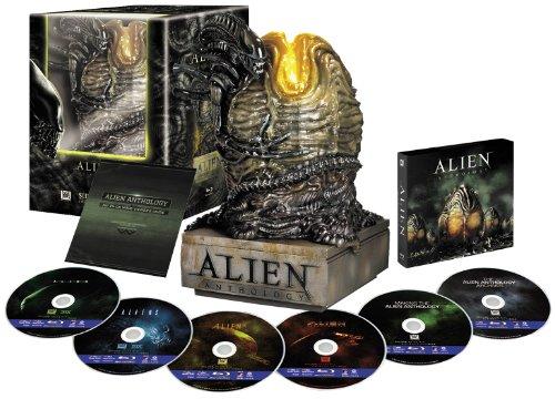 エイリアン・アンソロジー:ブルーレイ・コレクターズBOX(エイリアン・エッグ付) [Blu-ray]