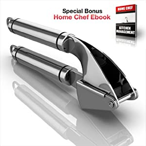 70% OFF TODAY - Propresser Garlic Press Stainless Steel - Mince Garlic with the Best... by Orblue