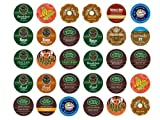 Single Serve Varieties Extra Bold Sampler Portion Pack for K-Cup Brewers, 30 Count