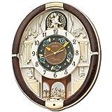 SEIKO CLOCK(セイコークロック) からくり掛け時計 濃茶色 RE571B RE571B