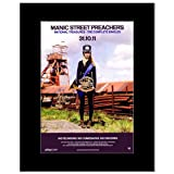 MANIC STREET PREACHERS - National Treasures Matted Mini Poster - 28.5x21cm