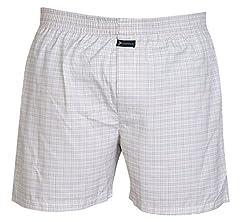 Careus Men's Cotton Boxers (Pack of 1)(1014_Multi-coloured_Large)