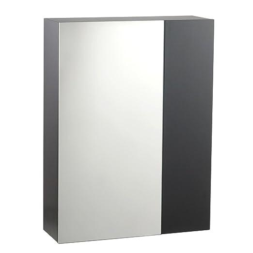 American Standard 9205.300.339 Studio Medicine Cabinet / Mirror with Inside Shelving, Espresso