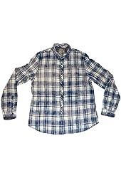 GUESS Long Sleeve Dillon Drake Linen Blend Shirt