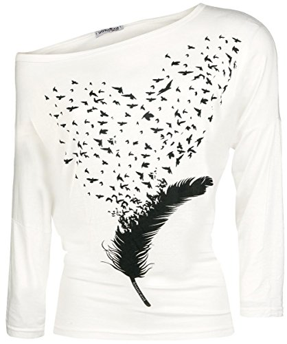 Innocent Fly Away Manica lunga donna bianco L