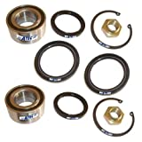 2x Wheel Bearing Kit FRONT AXLE SUZUKI ALTO MK III 3 1.0 02.99-06.02; SWIFT MK I 1 II 2 1.0 1.3 08.86-05.01;