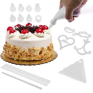 Cake Decorating Stockists Uk : 100 Piece DIY Cake Decorating Kit: Amazon.co.uk: Kitchen ...