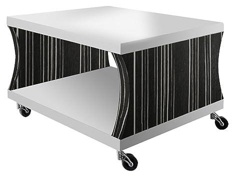 Regalwelt 2003-KF-BLB-ALG Couchtisch Coucho V2, 60 x 60 x 45 cm