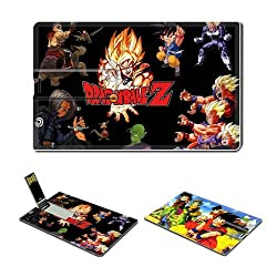 8GB USB Flash Drive 2.0 Memory Stick Dragon Ball Z Anime Comic characters Credit Card Size Customized Support Services Ready Goku Gohan Trunks Krillin Piccolo Vegita