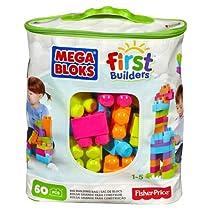 Mega Bloks Big Building Bag 60-Piece (Trendy)