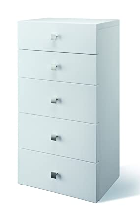 Creative Furniture Scarlet Chest of Drawers, White