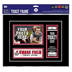 Arizona Diamondbacks Game Day Ticket Frame Frame It Yourself by That