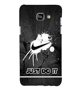 EPICCASE Nike Symbol Mobile Back Case Cover For Samsung Galaxy A7 (2016) (Designer Case)
