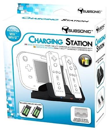 Charging Station - Black (Nintendo Wii U)