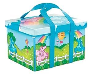 Neat-Oh! ZipBin Everyday Princess 40 Pony Rainbow Park w/ 1 pony