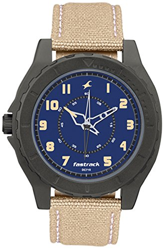 Fastrack-Beige-Analog-Blue-Dial-Watch-For-Men-9462AL01