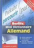 echange, troc Collectif - Allemand Mini Dictionnaire