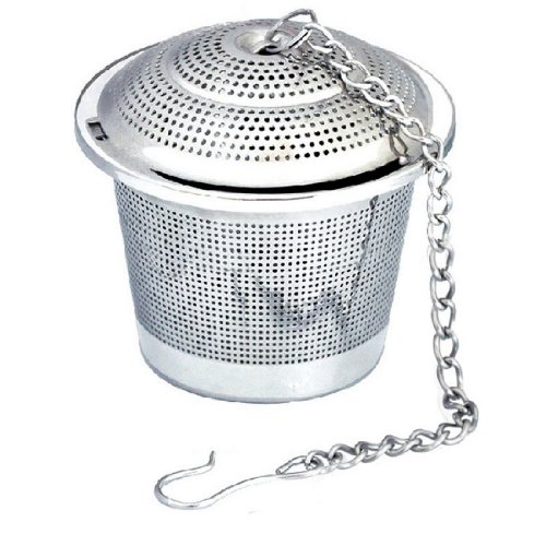 Thickening 304 medical stainless steel seasoning ball bucket spherical soup spices net ball