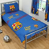 FC. Barcelona Single Reversible Duvet Set