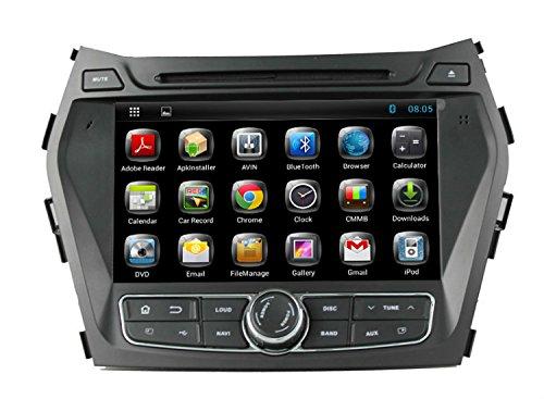 LIKECAR-HD-8-Zoll-1024-600-Quad-Core-16GB-Flash-16GHZ-Kapazitive-Touch-Screen-Android-444-Autoradio-one-din-Multimedia-DVD-Sat-Navi-GPS-Navigationssystem-fr-Hyundai-IX45-Santa-Fe-2013-Automotivo-mit-F