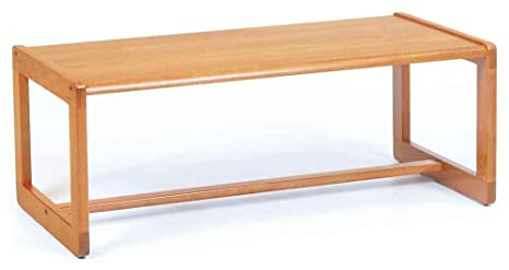 Coffee Table w Sled Base - Classic (Cherry)