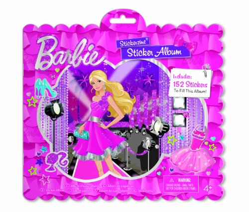 Barbie Stickerzine Sticker Album - 1