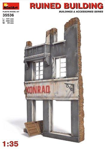 Mini Art Plastics Ruined Building