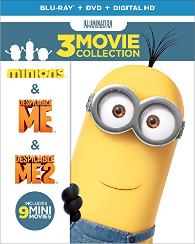 Despicable Me 3-Movie Collection (Despicable Me / Despicable Me 2 / Minions) (Blu-ray + DVD + Digital HD)