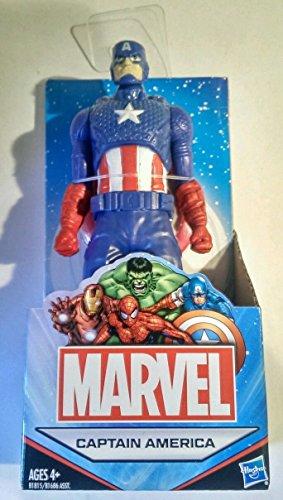 "Marvel Universe Avengers 6"" (Approximate Size) All Star Captain America Action Figure Australian Release"