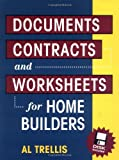 img - for Documents, Contracts and Worksheets for Home Builders book / textbook / text book