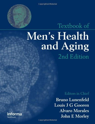 पुस्तक आवरण Textbook of men's health and aging