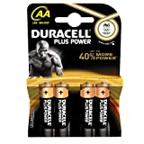 Duracell DUR017641 Plus Power AA Batterien (4er Pack) Picture